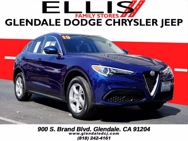 Certified Pre-Owned 2019 Alfa Romeo Stelvio Base