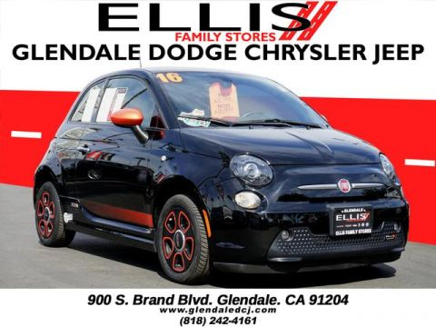 Pre-Owned 2016 FIAT 500e Base